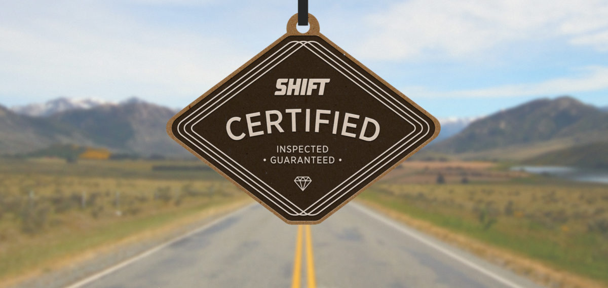 Shift Certified warranties
