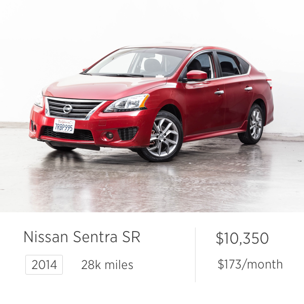 used car deal nissan sentra