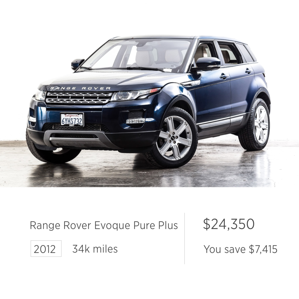 Used 2014 Land Rover Range Rover Evoque Pure Plus For Sale: Used Car Deals Of The Week